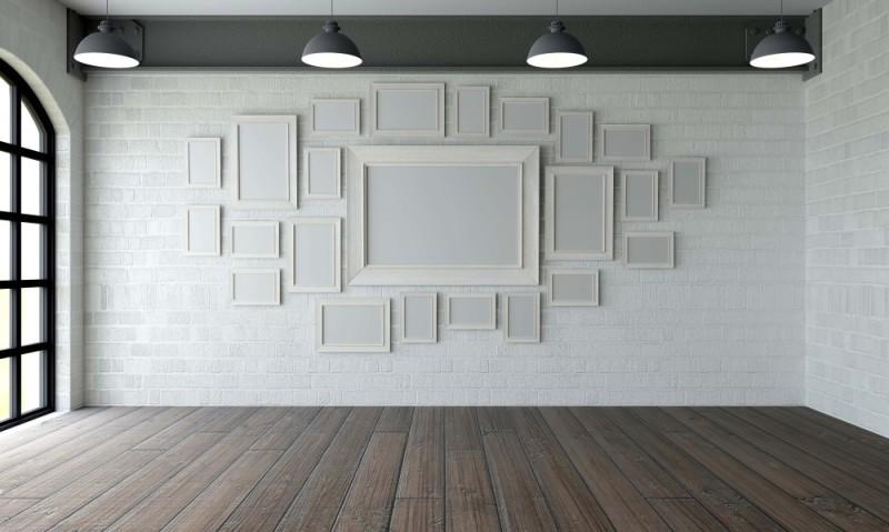 Una habitación vacía que hace mirar atrás